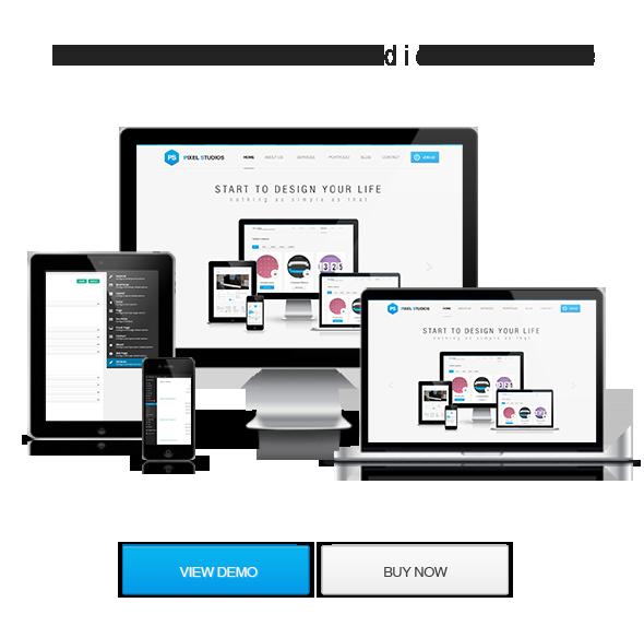 WordPress theme Pixel Studios-Business Responsive WordPress Theme (Business)